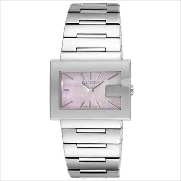 グッチ ■腕時計 Gレクタングル ピンクパール YA100518