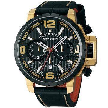 AngelClover ■腕時計 タイムクラフト ブラック NTC48YBK-BK