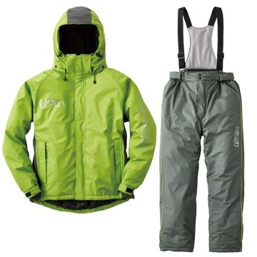 ロゴスコーポーレーション ■油に強い防水防寒スーツ サーレ グリーン L