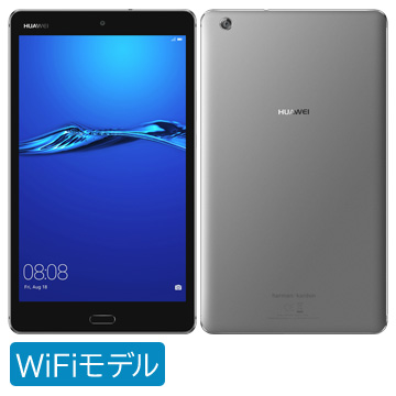 【期間限定 エントリーでP10倍】 Huawei MEDIAPAD M3lite 8/Wi-Fi/32GB/Gray CPN-W09