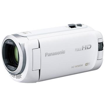 Panasonic デジタルハイビジョンビデオカメラ W585M 内蔵メモリー 64GB ホワイト HC-W585M-W