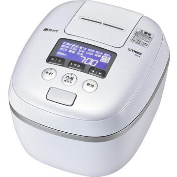 タイガー魔法瓶 圧力IH炊飯器 9層遠赤特厚釜 5.5合炊き アーバンホワイト JPC-A102-WE