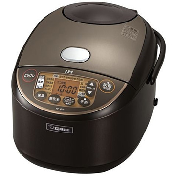 象印 IH炊飯器 1升炊き ブラウン NP-VI18-TA