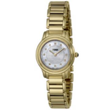 FENDI(フェンディ) ■腕時計 クラシコラウンド レディース ホワイトパール F251424500D1
