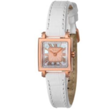 FENDI(フェンディ) ■腕時計 QUADOROMINI レディース ホワイトパール F604524541