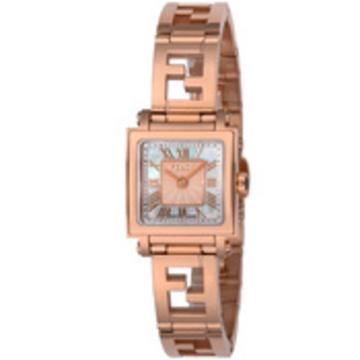 FENDI(フェンディ) ■腕時計 QUADOROMINI レディース ホワイトパール F605524500