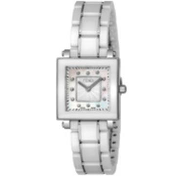 FENDI(フェンディ) ■腕時計 CERAMIC レディース ホワイトパール F622240BD