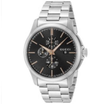 GUCCI(グッチ) ■腕時計 Gタイムレスクロノ メンズ ブラック YA126272