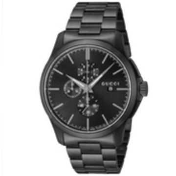 GUCCI(グッチ) ■腕時計 Gタイムレスクロノ メンズ ブラック YA126274