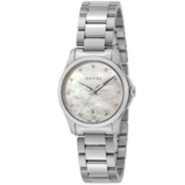 GUCCI(グッチ) ■腕時計 Gタイムレス レディース ホワイトパール YA126542