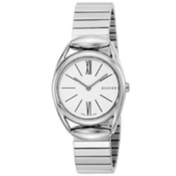 GUCCI(グッチ) ■腕時計 ホースビット レディース ホワイト YA140505