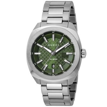 GUCCI(グッチ) ■腕時計 GG2570 メンズ グリーン YA142313