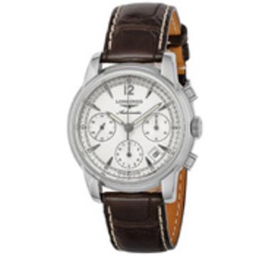 LONGINES(ロンジン) ■腕時計 サンティミエ メンズ シルバー L2.753.4.72.0