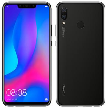 【期間限定 エントリーでP5倍】 Huawei Nova3 Black nova_3/Black