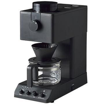 ツインバード 全自動コーヒーメーカー 3杯分 ブラック CM-D457B