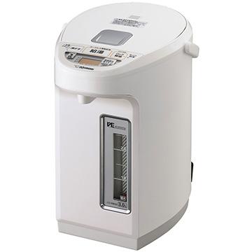 象印 VE電気まほうびん 優湯生 3.0L ホワイト CV-WB30-WA