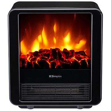 【枚数限定クーポン発行中!】 Dimplex(ディンプレックス) 電気暖炉 ファンヒーター内蔵 MiniCube ブラック MNC12BJ