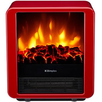 Dimplex(ディンプレックス) 電気暖炉 ファンヒーター内蔵 MiniCube レッド MNC12RJ