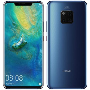【期間限定 エントリーでP5倍】 Huawei Mate 20 Pro/Midnight Blue/51093BPK Mate20Pro/Blue