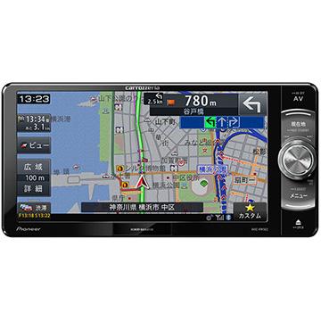 Pioneer 楽ナビ 7V型ワイドメモリーカーナビ/ワンセグ/Bluetooth/DVD AVIC-RW502