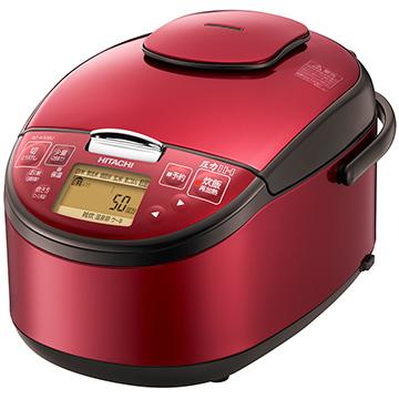 日立 圧力IH炊飯器 5.5合炊き レッド RZ-H10BJ-R