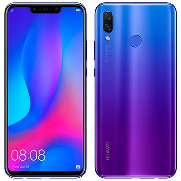 【期間限定 エントリーでP5倍】 Huawei Nova3 Purple nova3/IrisPurple_2