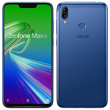 ASUS ZenFone Max M2 スペースブルー ZB633KL-BL32S4
