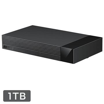 BUFFALO 外付けHDD 海外並行輸入正規品 即納送料無料! USB3.1 24時間連続録画対応 静音設計 HDV-LLD1U3BA ひかりTV動作確認済 1TB D