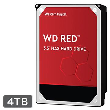 WESTERNDIGITAL 内蔵ハードディスク NAS用途向け 4TB 3.5インチ Red 3年保証 WD40EFRX-RT2
