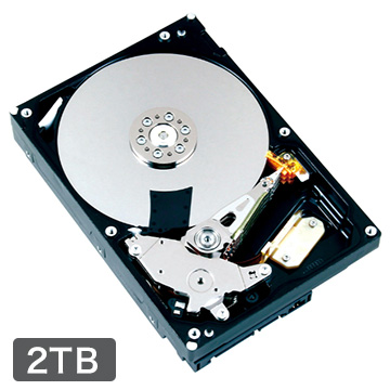 TOSHIBA 内蔵HDD 2TB 3.5インチ DT01ACA200