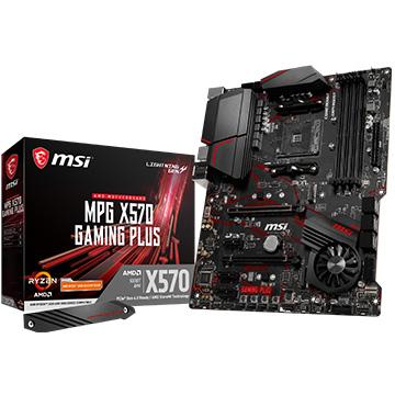 MSI ゲーミングマザーボード MPG 高品質新品 X570搭載 MPGX570-GAMING-PLUS 限定品 PLUS GAMING