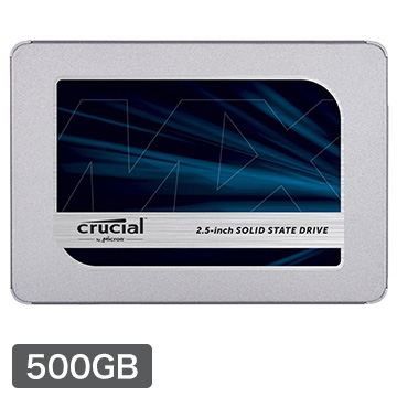 Crucial 内蔵SSD MX500 500GB SATA 2.5インチ 開店記念セール 9.5mm CT500MX500SSD1JP 7mm 新作 人気 adapter with