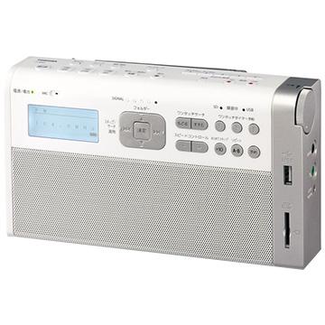 TOSHIBA SD/USB録音ラジオ TY-RHR1-W