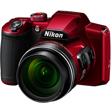 Nikon COOLPIX コンパクトデジタルカメラ B600 レッド B600-R