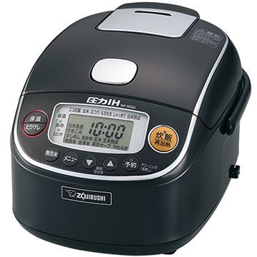 象印マホービン 圧力IH炊飯器 極め炊き 3合炊き ブラック NP-RZ05-BA
