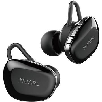 エム・ティ・アイ NUARL N6 完全ワイヤレスイヤフォン グロスブラック N6-GB