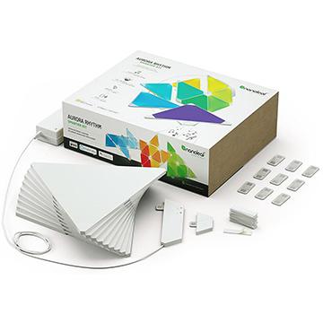 本物の Smarter Rhythm nanoleaf Kit(Rhythm付スマーターセット) ?Aurora NL28-2006TW-9PK-J:ひかりTVショッピング 店-エクステリア・ガーデンファニチャー