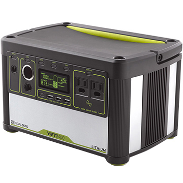 Goal Zero ?Yeti Lithium 400 (100V) Portable Power Station 38008