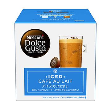 ネスレ ドルチェグスト 専用カプセル ICL16001 お求めやすく価格改定 16杯分 アイスカフェオレ 今ダケ送料無料