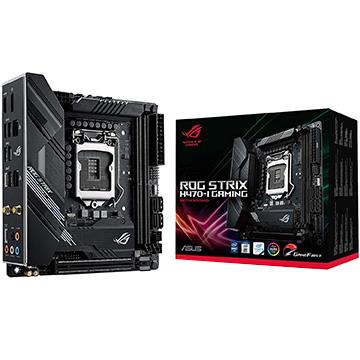 ASUS マザーボード Intel H470搭載 LGA1200対応 MiniITX H470-I ROG/STRIX/H470-I/G