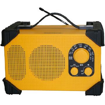 期間限定 保証 エントリーでP5倍 WINTECH 防滴防塵現場ラジオ 国内在庫 GBR-3D