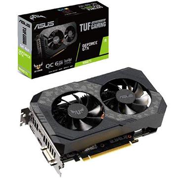 ASUS ■グラフィックカード NVIDIA RTX1660Ti搭載 6GB デュアルファンモデル TUF-GTX1660TI-O6G-G
