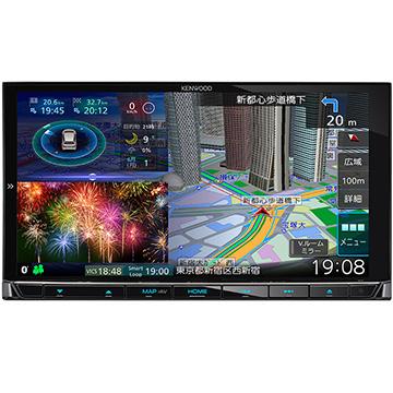 JVCケンウッド 彩速ナビ 7V型メモリーカーナビ/地デジ/ハイレゾ対応/DVD/Bluetooth/HDパネル搭載 MDV-M807HD