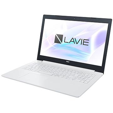NEC (オフィス付) LAVIE Smart NS 15.6 AMDA6 4GB 1TB ホワイト PC-SN26VPDDF-D