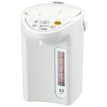 タイガー魔法瓶 マイコン電動ポット スーパーセール 3.0L 最新号掲載アイテム ホワイト PDR-G301W
