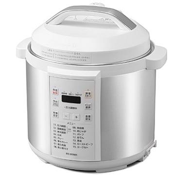 売れ筋ランキング アイリスオーヤマ 電気圧力鍋 6.0L ホワイト 至上 PC-EMA6-W
