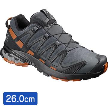 サロモン [ユニセックス アウトドアシューズ] FOOTWEAR XA PRO 3D v8 GTX Ebony/Caramel サイズ:26 L40989200_26.0