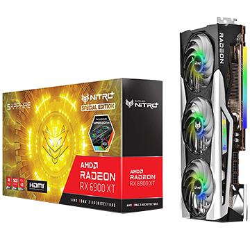 SAPPHIRE グラフィックボード NITRO+ Radeon RX 6900 XT OC Edition 別倉庫からの配送 Special 新品 SAP-NITROPRX6900XT16GBSP 16GB GDDR6 11308-03-20G