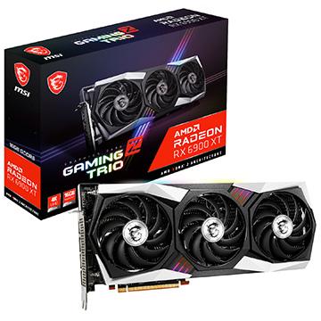 MSI グラフィックボード Radeon 安心と信頼 RX 6900 XT TRIO 16G Z RX6900XTGZTRIO16G 別倉庫からの配送 GAMING