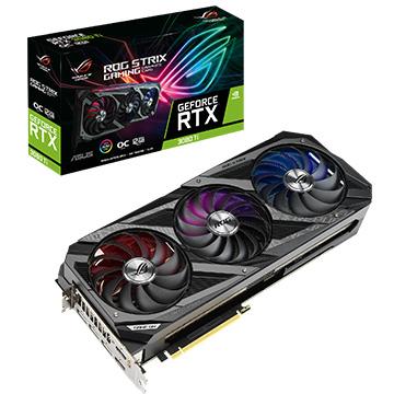 ASUS グラフィックカード NVIDIA RTX3080Ti搭載 10GB セール商品 ROG-STRIX-RTX3080TI-O12G-G 売店 STRIX オーバークロック ROG